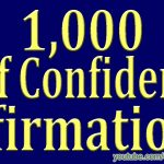 1,000 ★POWERFUL★ Self Confidence Affirmations – Attract Wealth Money Prosperity Cash Abundance